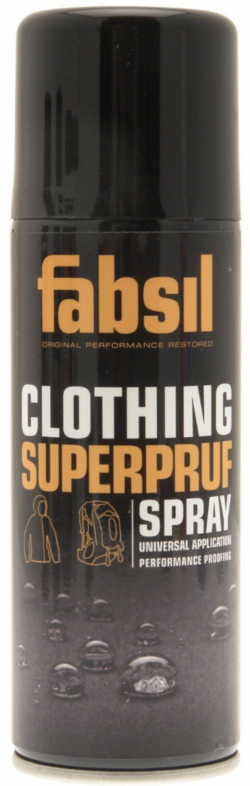 Fabsil Clothing Superpruf spray 200ml - universal application performance proofing